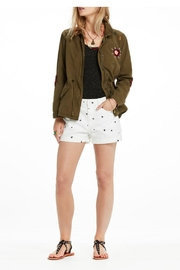 Scotch and Soda Embroidered Military Jacket - Back cropped