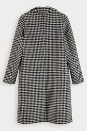 Scotch and Soda Houndstooth Wool Coat - Other