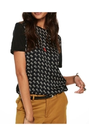 Scotch and Soda Jersey Mix T Shirt - Front cropped