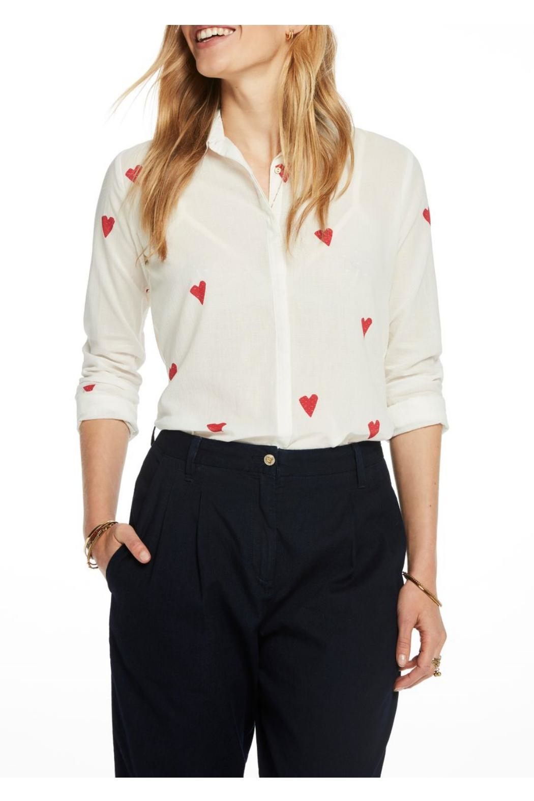 Scotch and Soda Printed Blouse - Main Image