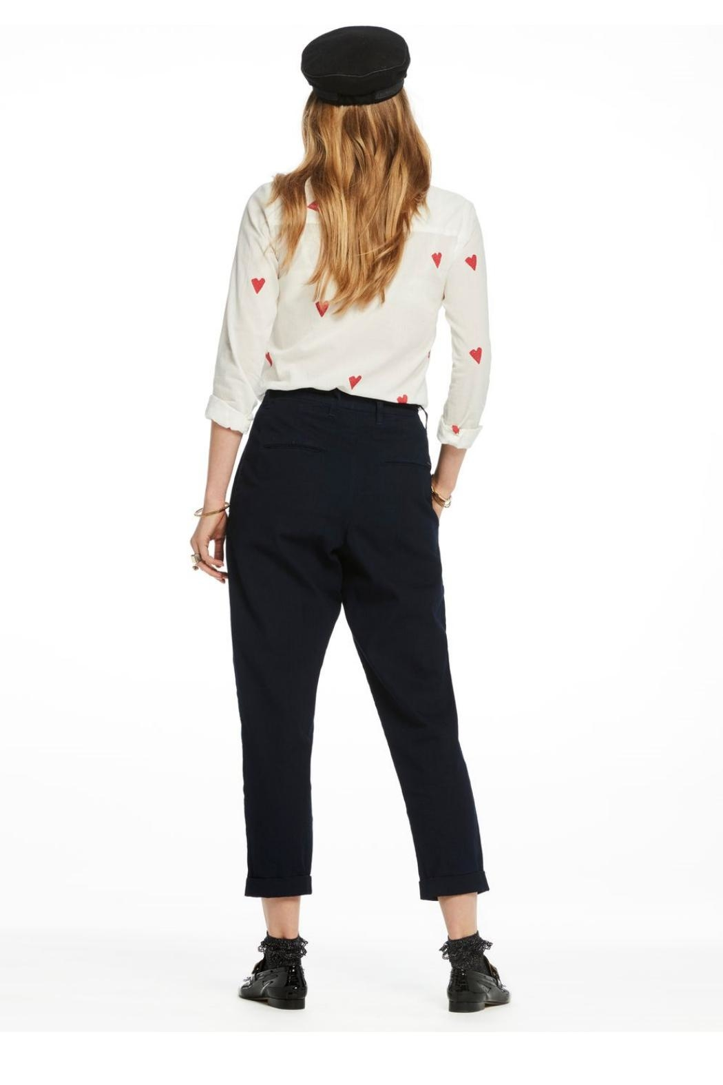 Scotch and Soda Printed Blouse - Side Cropped Image