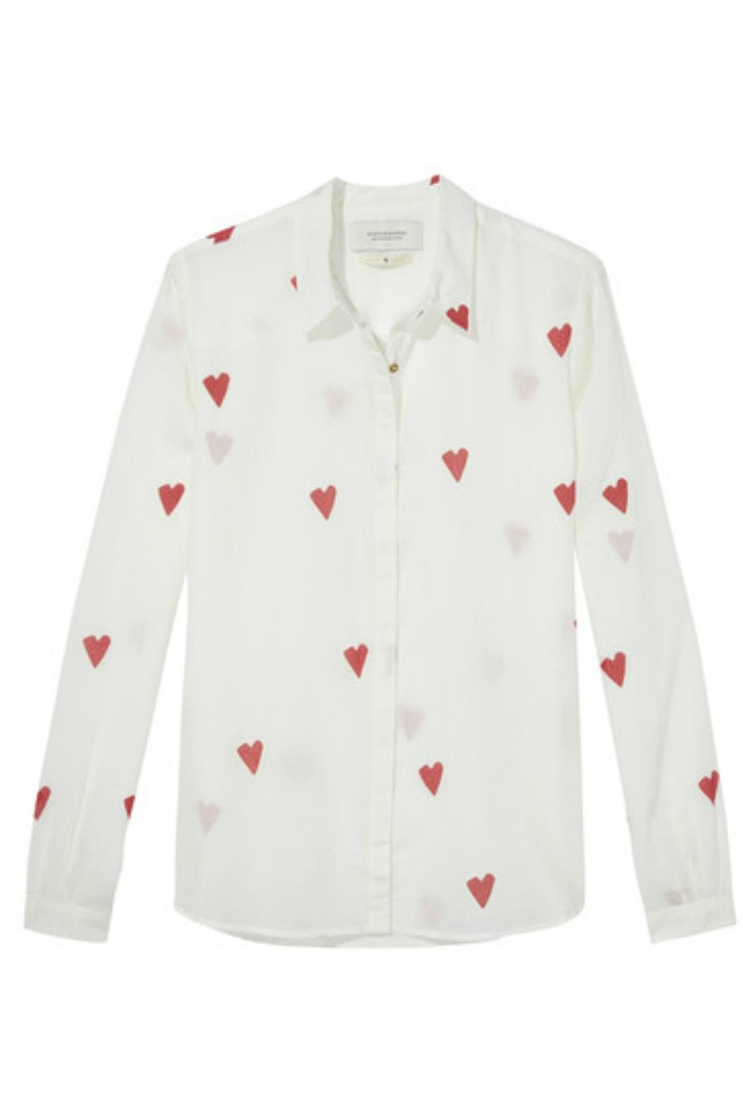 Scotch and Soda Printed Blouse - Front Cropped Image