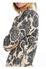 Scotch and Soda Printed Sweater - Back cropped
