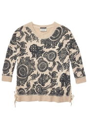 Scotch and Soda Printed Sweater - Front cropped
