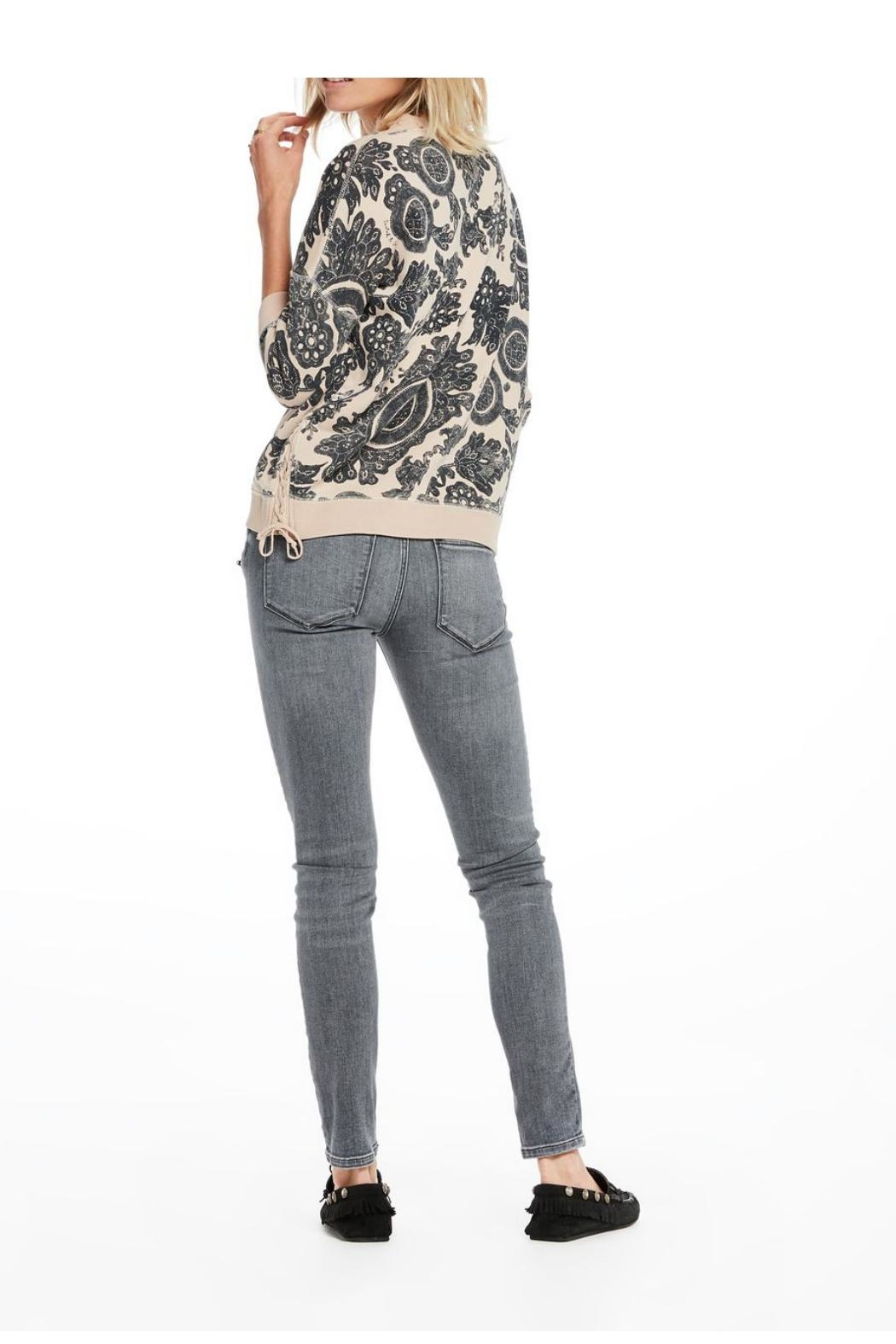 Scotch and Soda Printed Sweater - Side Cropped Image