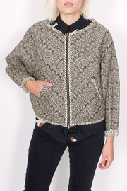 Scotch and Soda Quilted Paisley Jacket - Front full body