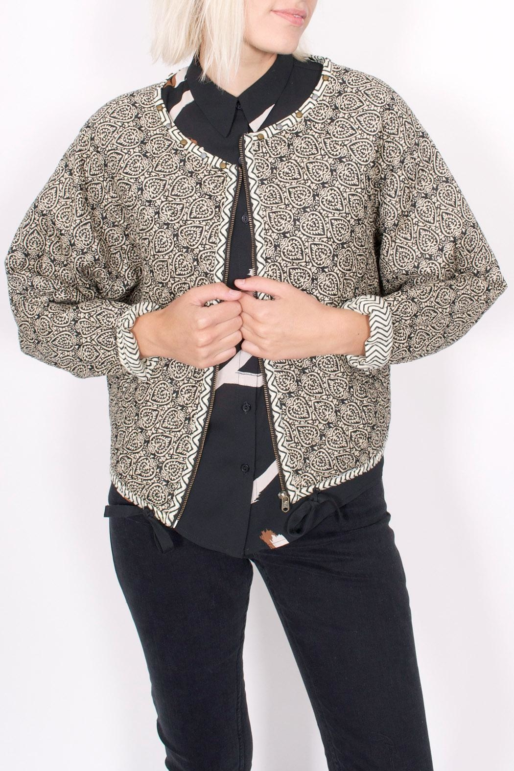 Scotch and Soda Quilted Paisley Jacket - Main Image