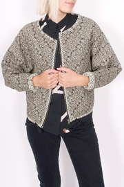 Scotch and Soda Quilted Paisley Jacket - Front cropped
