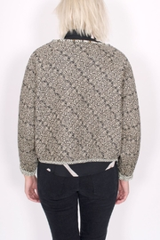 Scotch and Soda Quilted Paisley Jacket - Back cropped