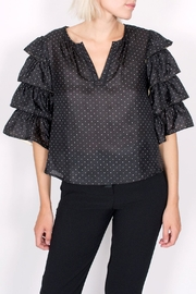 Scotch and Soda Ruffle Pirate Blouse - Product Mini Image