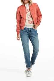 Scotch and Soda Satin Bomber Jacket - Front cropped