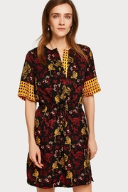 Scotch and Soda Silk Print Dress - Front cropped