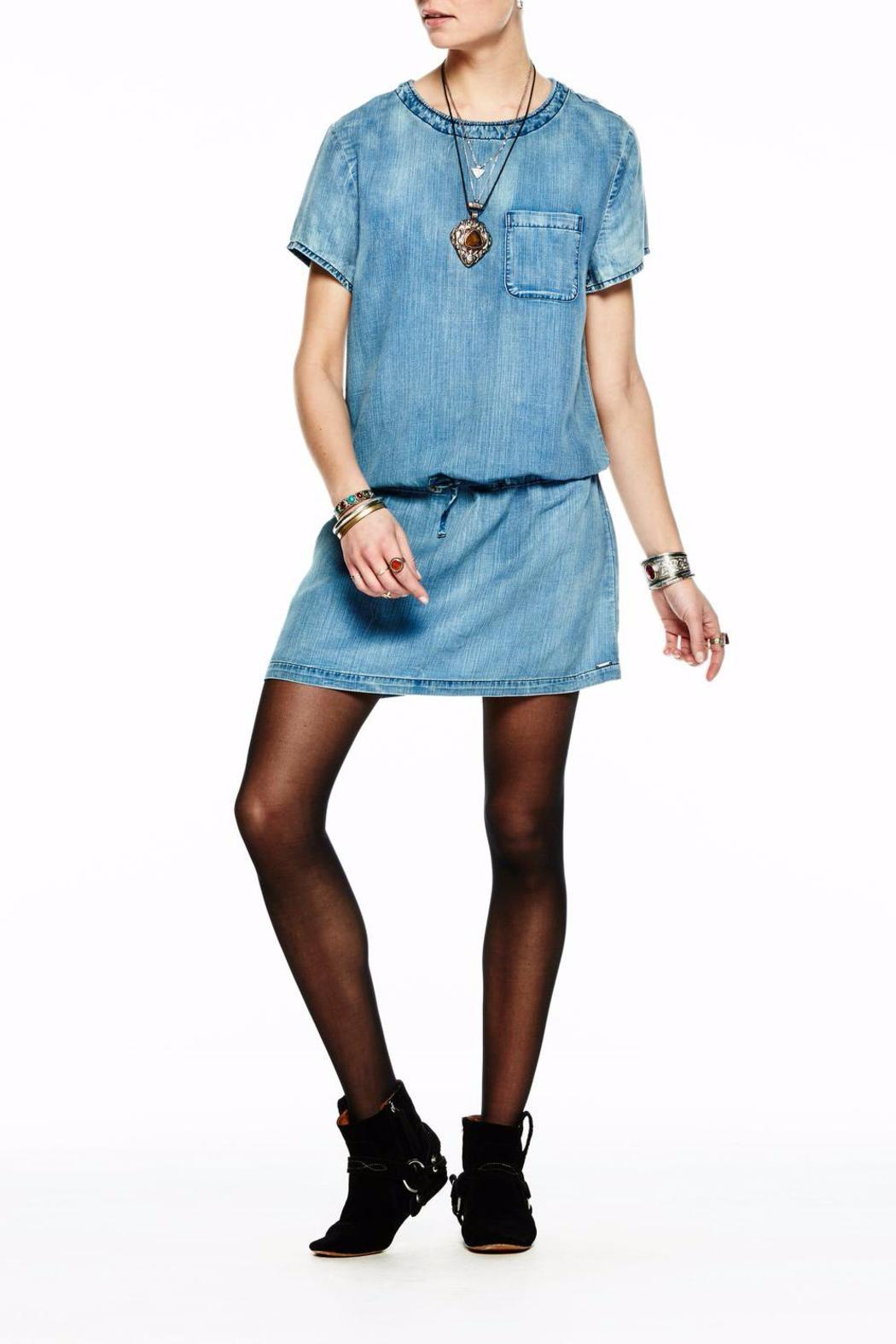 Scotch and Soda Tencel Dress - Side Cropped Image