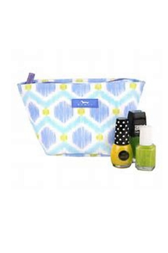 Shoptiques Product: Blue Cosmetic Bag