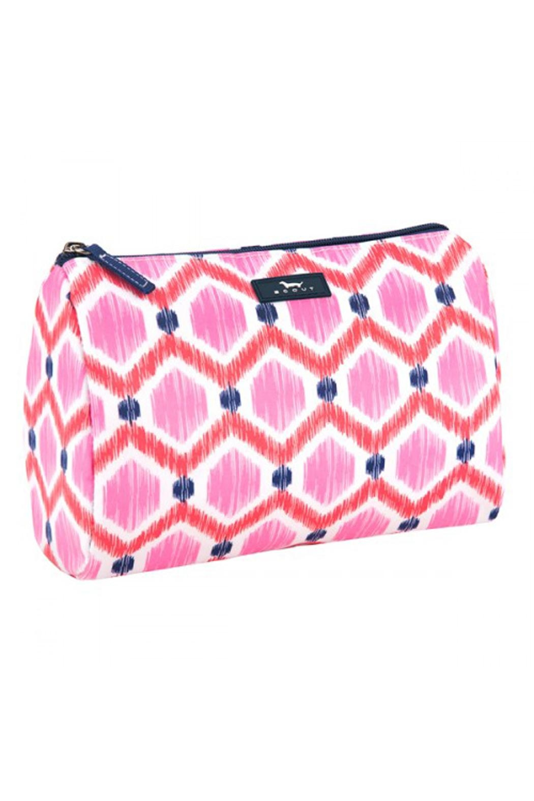 Scout Patterned Cosmetic Bag - Main Image