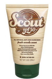 Sunshine & Glitter  Scout SPF 50+ All Natural Sunscreen With All Natural Bug Repellent 3oz - Product Mini Image