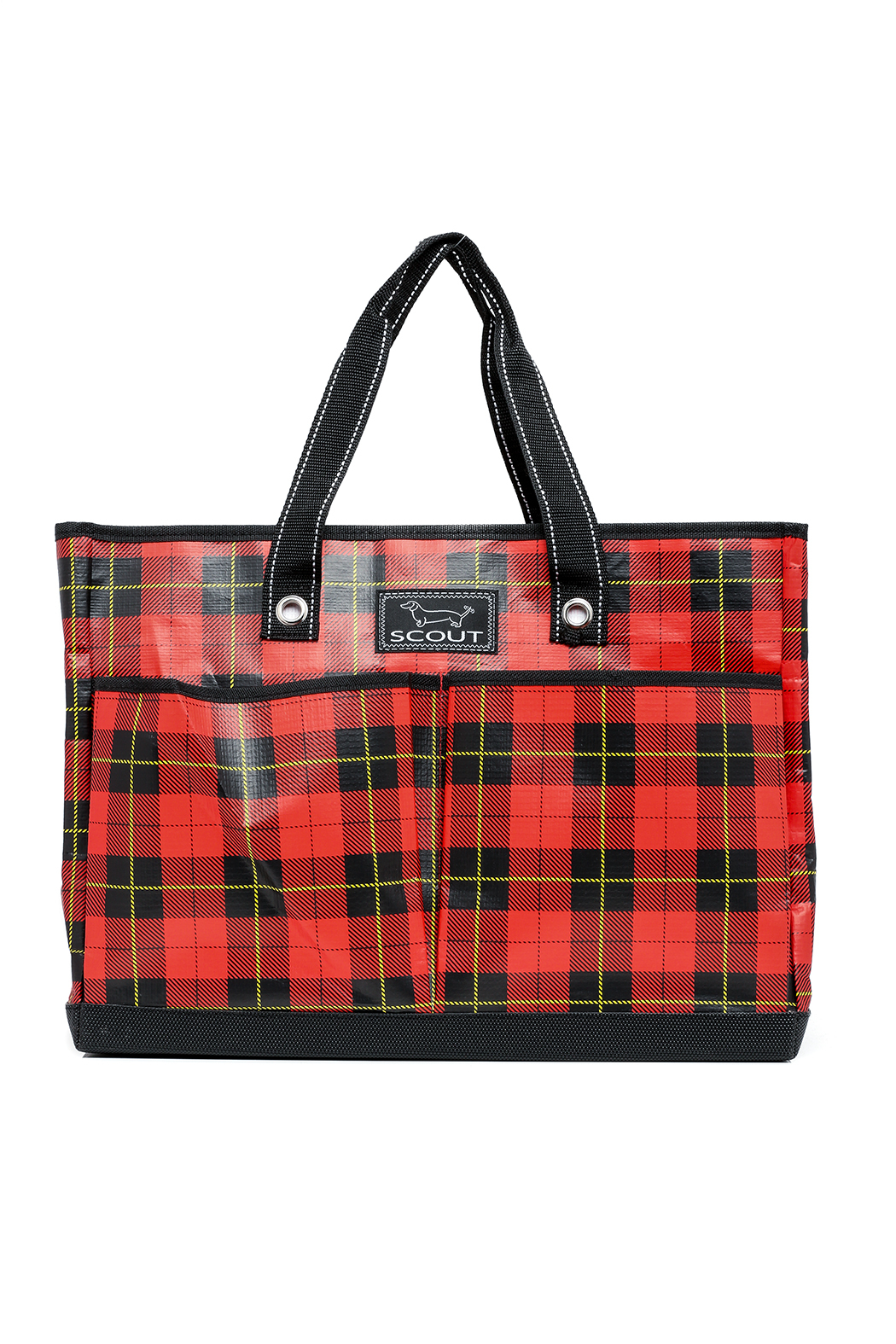Scout Plaid Tote Bag Front Cropped Image