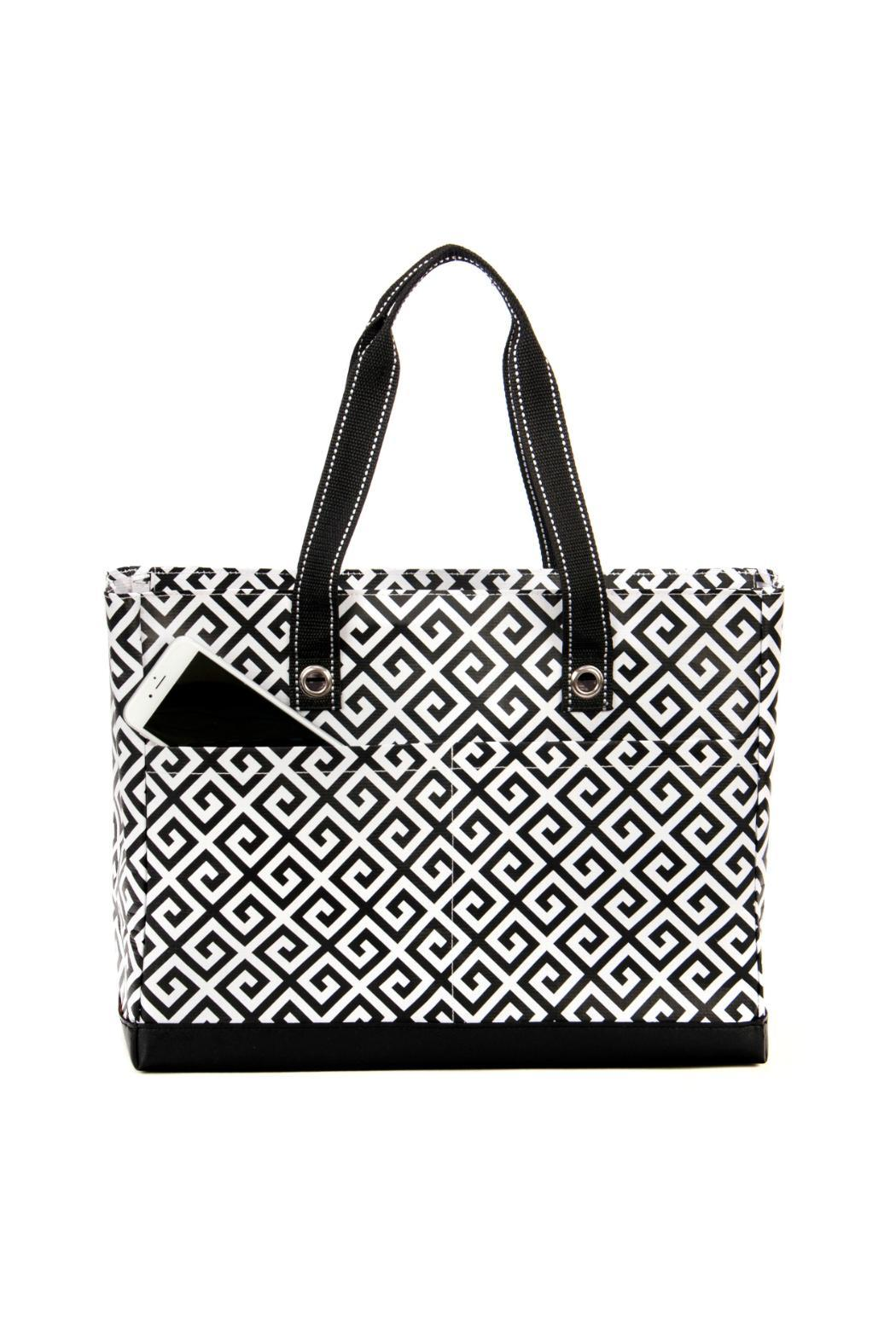 Scout Uptown Girl Multi Pocket Tote From Virginia By Mary Barnetts Frnd Cosmetics Set Side Cropped Image