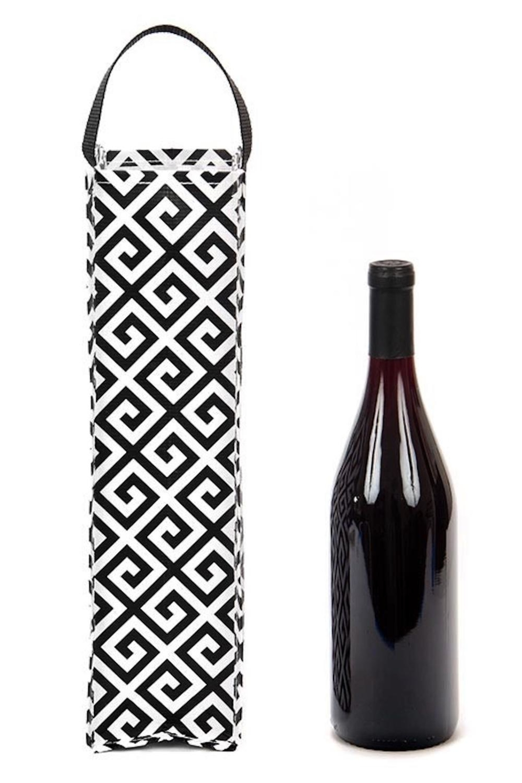 Scout Wine Bottle Tote Bag - Front Full Image
