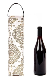 Scout Wine Bottle Tote Bag - Front full body