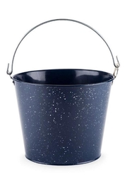 Scout Clothing & Decor Enamel Beer Bucket - Front full body