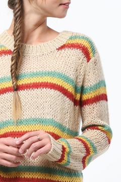 Shoptiques Product: Open Knit Sweater