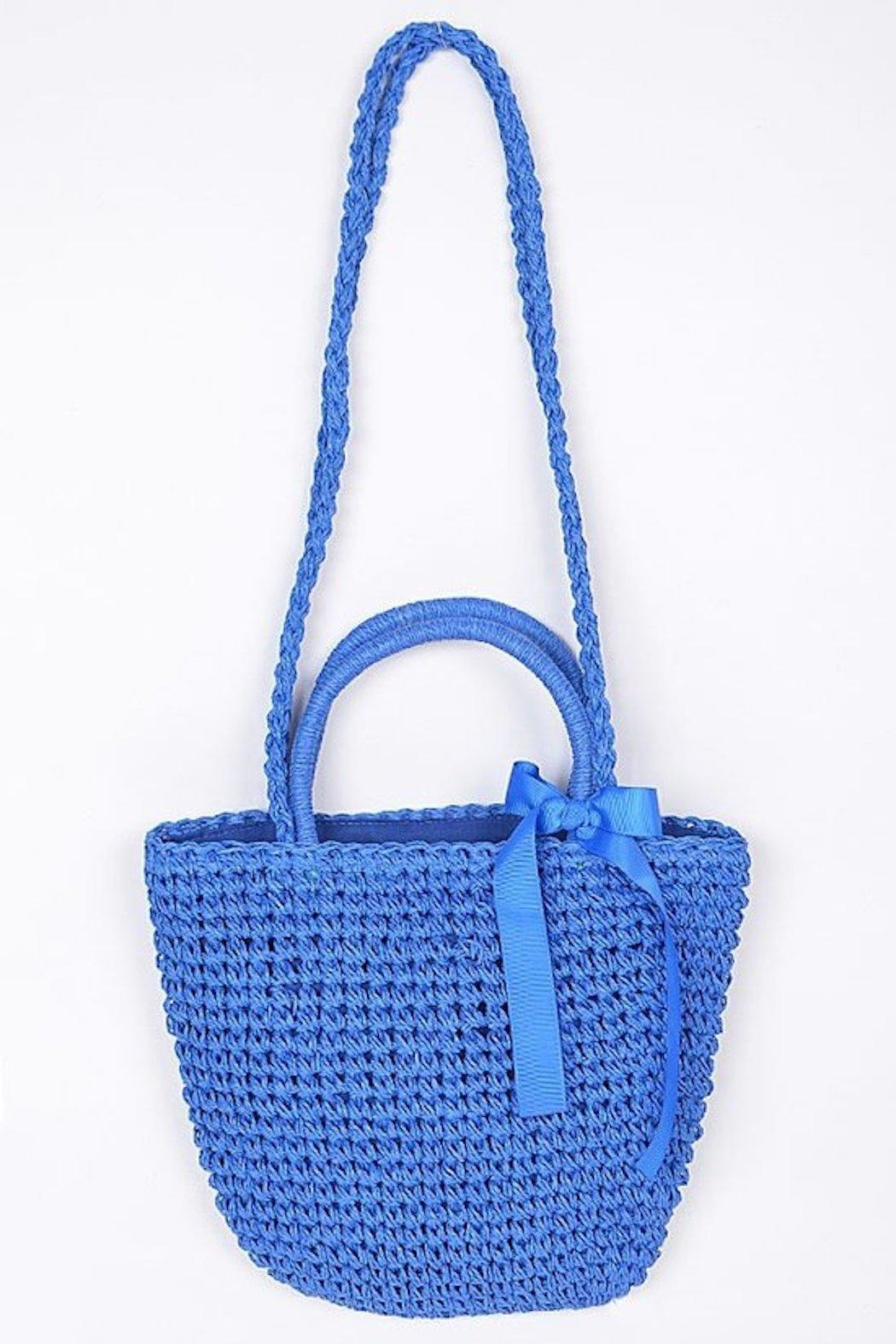 Scout Clothing & Decor Straw Bag - Front Cropped Image