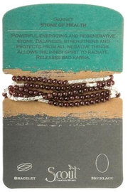 Scout CURATED WEARS Garnet Stone Wrap - Product Mini Image