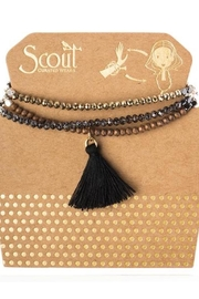 Scout CURATED WEARS Metallic Tassel Wrao - Product Mini Image