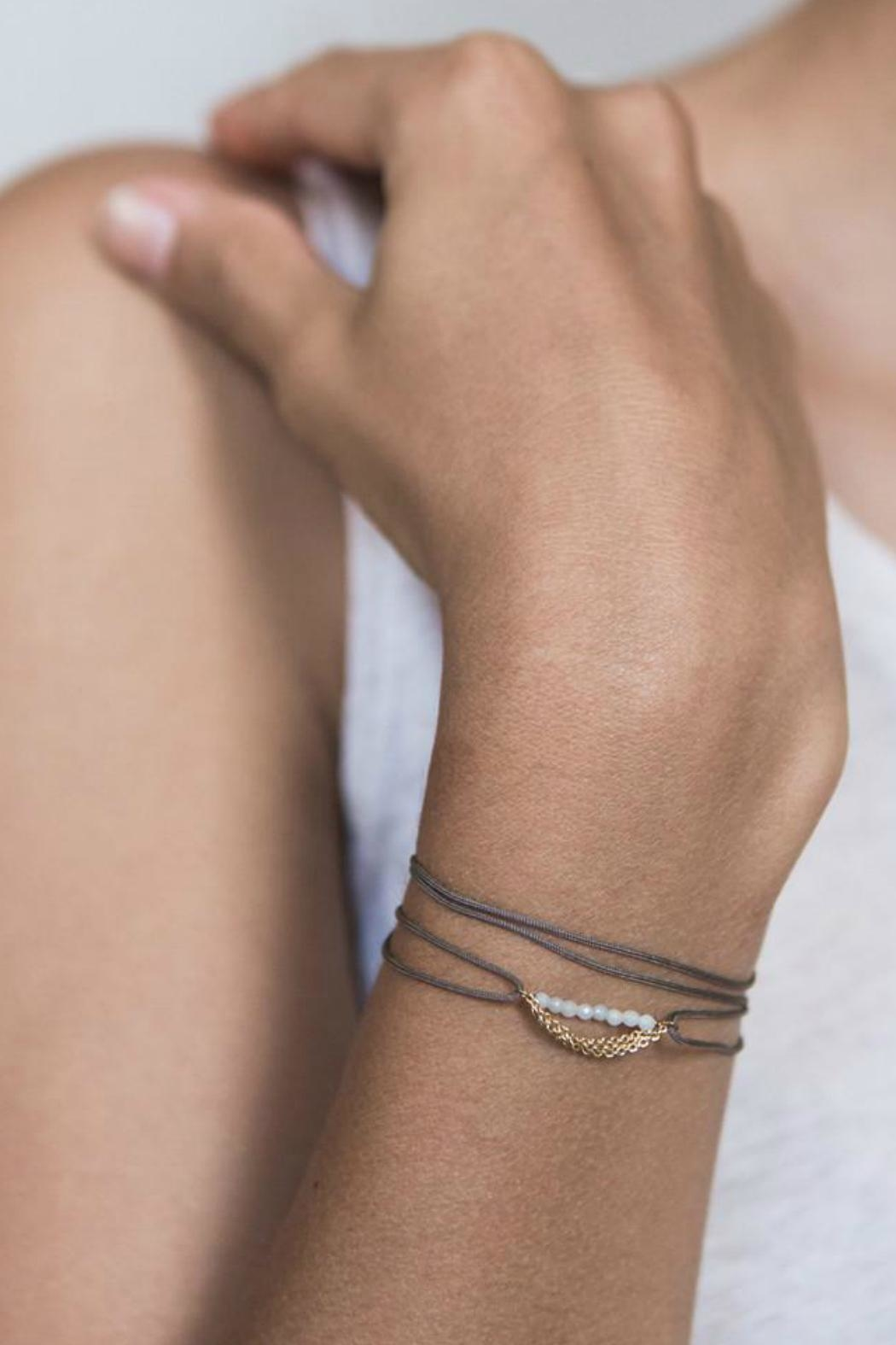 Scout CURATED WEARS Pearl Pebble Wrap - Front Full Image
