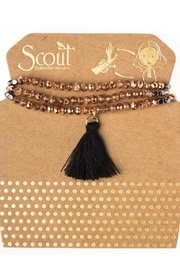 Scout CURATED WEARS Rosegold Tassel Wrap - Product Mini Image