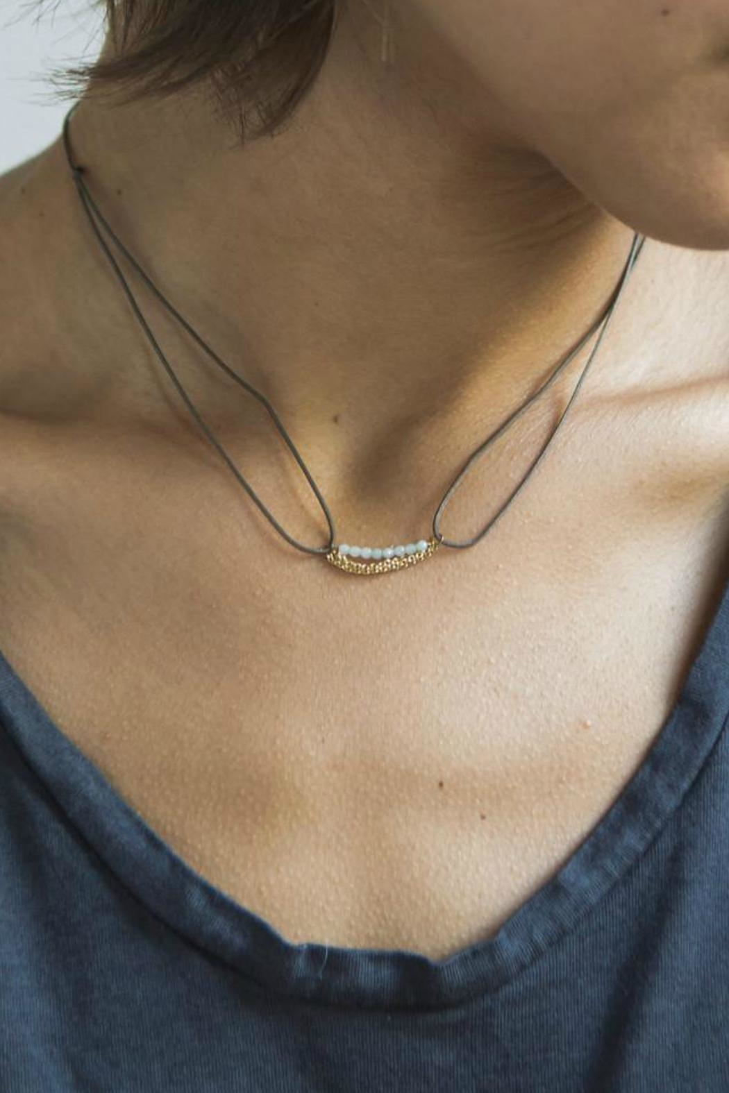Scout CURATED WEARS Sodalite Pebble Wrap - Side Cropped Image