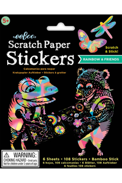 Eeboo Scratch Paper Stickers - Product List Image