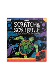 Ooly Scratch & Scribble: Ocean Life Guided Artwork - Product Mini Image