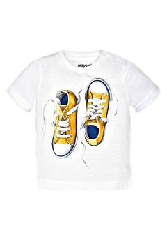 Mayoral Screen-Printed Sneaker T-Shirt - Product List Image