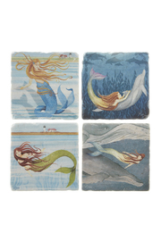 Screencraft Bliss Mermaid Coasters - Front cropped