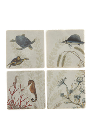 Screencraft Sea Creatures Coasters - Front cropped