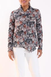 Talk of the Walk Scribble Floral Top - Product Mini Image