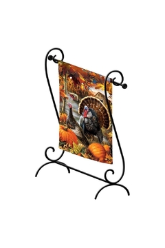 Evergreen Enterprises Scroll Garden Flagstand - Alternate List Image
