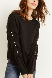 Gilli Scrunched Sleeve Top - Product Mini Image