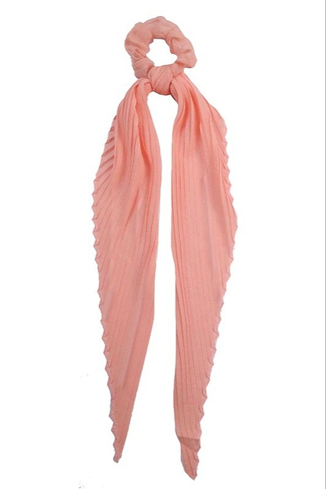 suzie q usa  Scrunchie Scarf Combo - Front Cropped Image