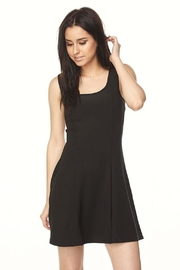New Mix Scuba A-Line Dress - Front cropped