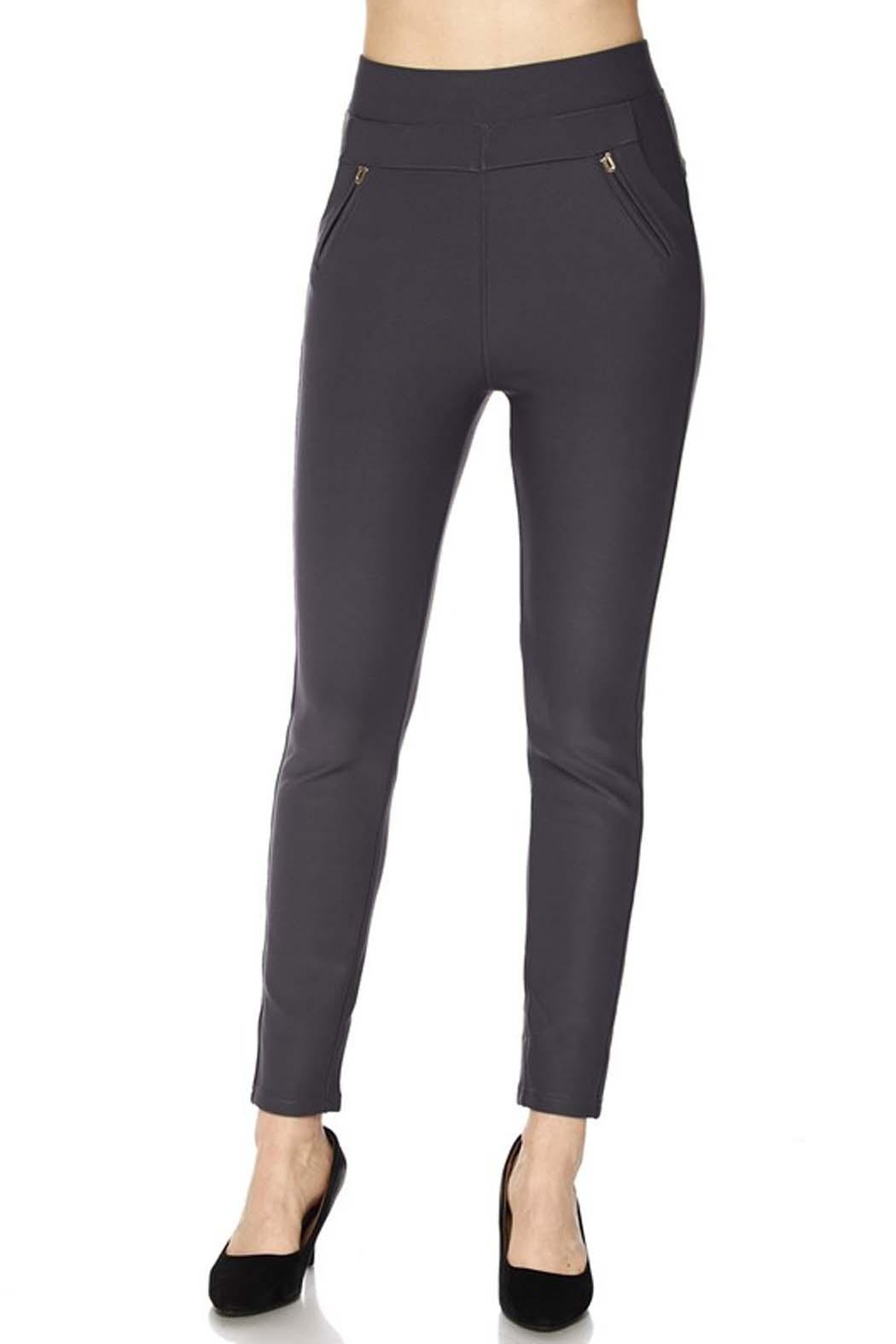 New Mix Scuba Pants - Front Cropped Image