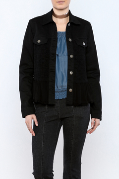 Scully Denim Jacket With Lace - Product List Image