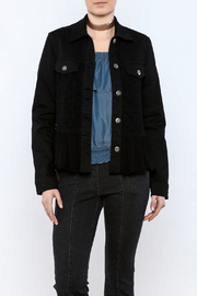 Scully Denim Jacket With Lace - Product Mini Image