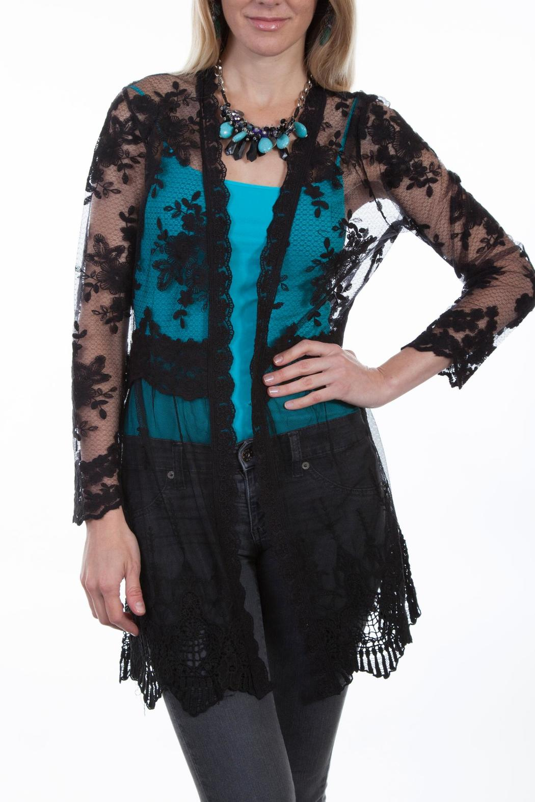 Scully Lace Cardigan - Main Image