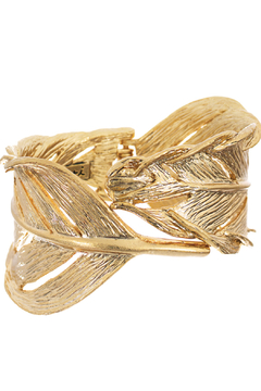Chloe & Isabel Sculpted Feather Cuff - Product List Image