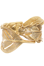 Chloe & Isabel Sculpted Feather Cuff - Product Mini Image