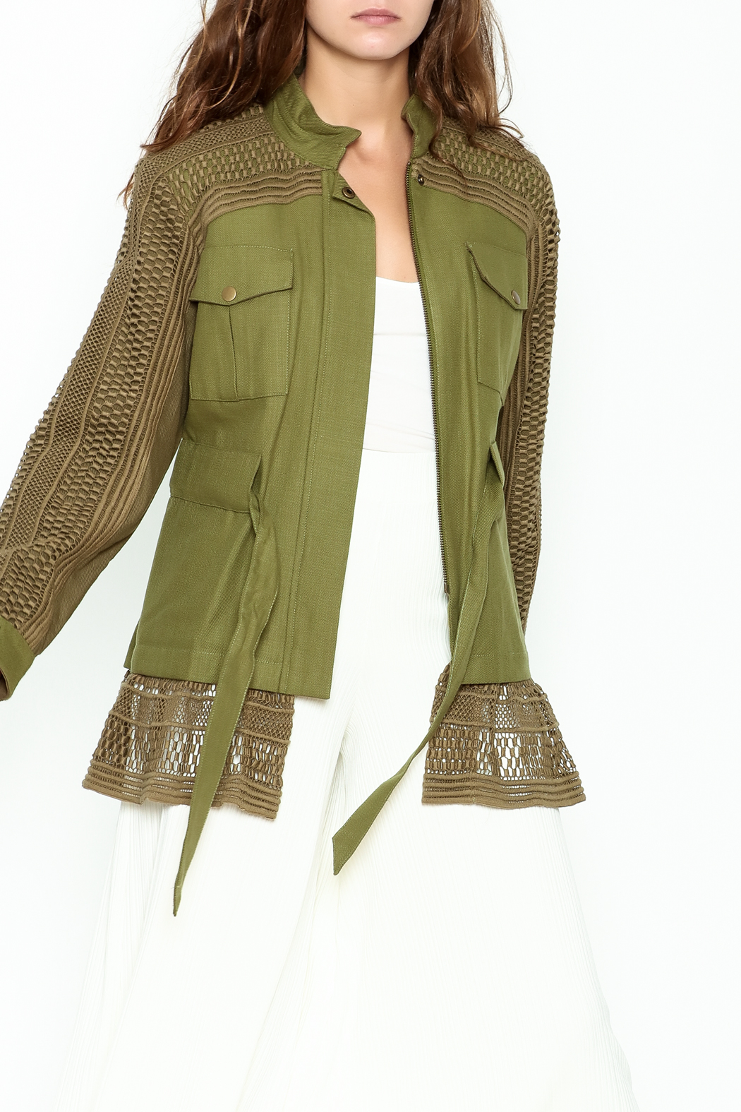 SEA Baja Lace Military Jacket - Main Image