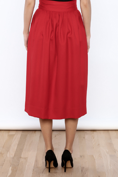 Shoptiques Product: Bow Tied Wool Skirt